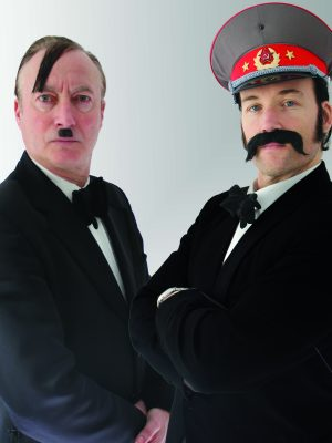 Frank Sanazi and Dean Stalin are Putting on the Blitz in Edinburgh