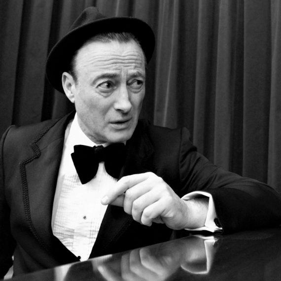 Peter Sinclair - crooner, singer, host
