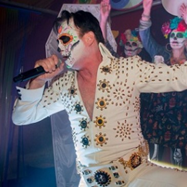 Elvis Corpseley - comical dead Elvis impersonator